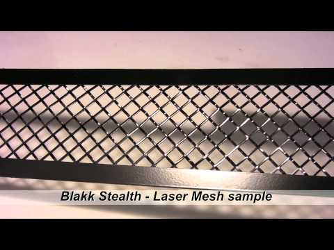 American Car Craft - Blakk Stealth Laser Mesh sample video