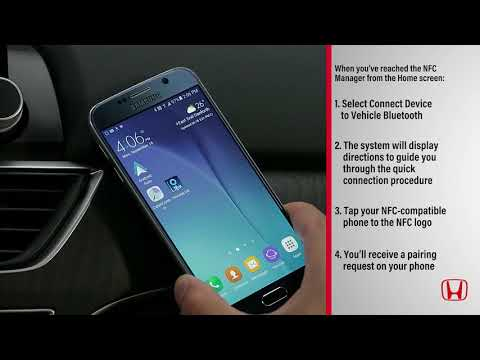 Using Near Field Communication (NFC) with compatible phones