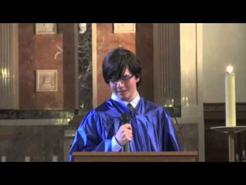 Saint Raphael School 8th grade commencement speech