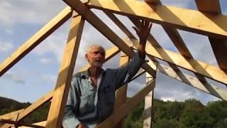 Крыша. Крепление ферм ✔ [Построить дом своими руками]