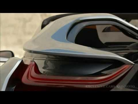 New BMW i8 Concept Spyder