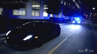 Lamborghini Huracan Police Car Chases Superleggera - It's Back!