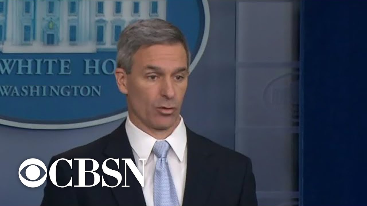 Cuccinelli: People Applying For Green Card Must Be Self