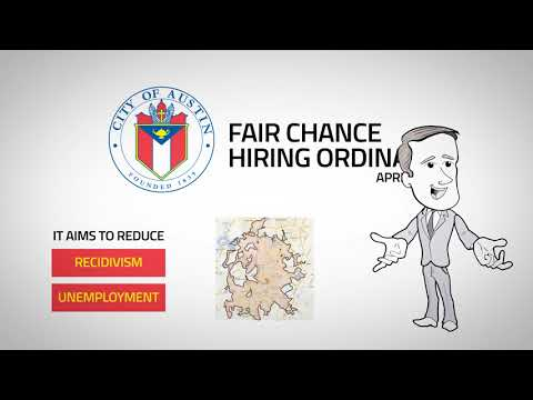 Fair Chance Hiring | Human Resources | AustinTexas gov - The