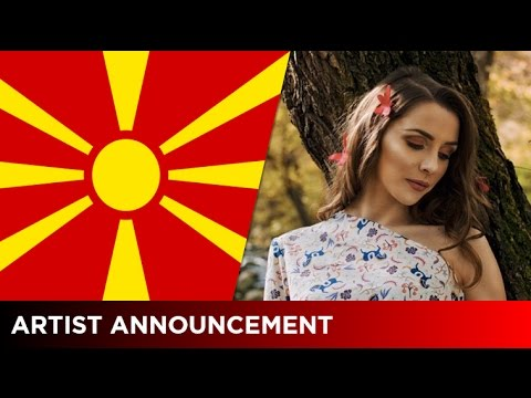 Jana Burčeska will represent F.Y.R. Macedonia at the 2017 Eurovision Song Contest