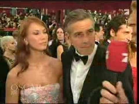 Oscar 2008 - Interview With George Clooney