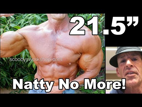 Scooby's first cycle natty no more