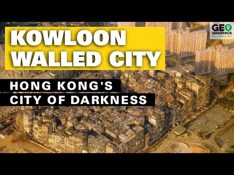 Kowloon Walled City: Hong Kong's City of Darkness