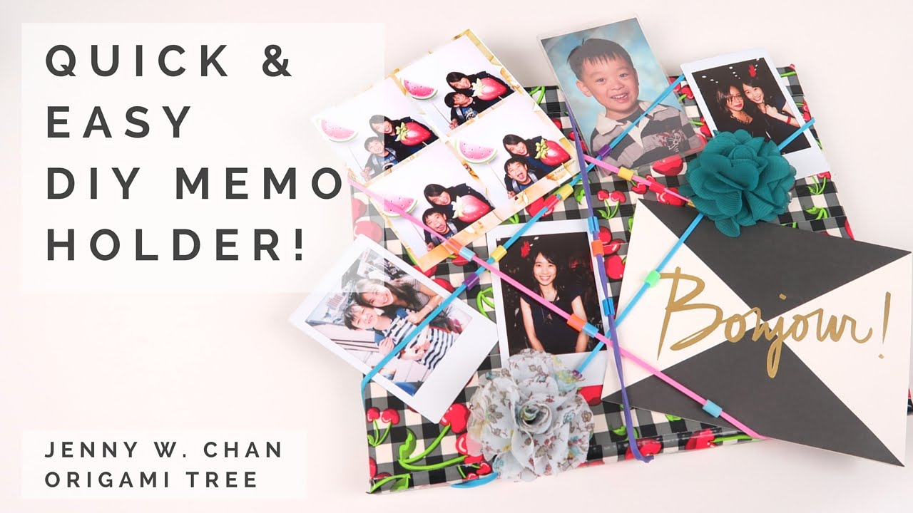 Diy Memo Board Photo Collage Holder Picture Frame Quick Easy