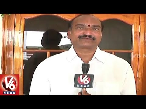 Realtors Encroach Endowment Lands In Khammam District | V6 News