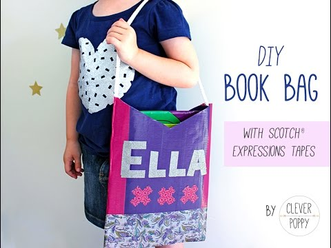 Make Your Own Book Bag