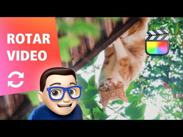 Cómo Girar un Vídeo en Final Cut Pro 🔄