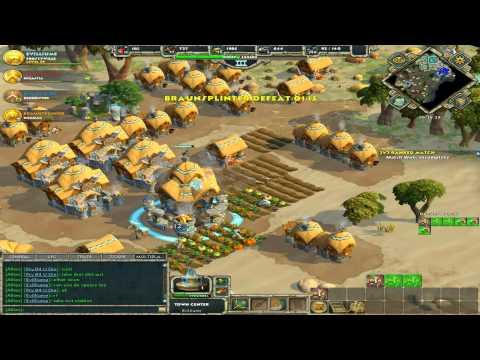 Celts and Greek 2v2 PvP - Age of Empires Online