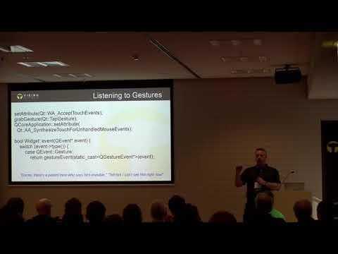 QtWS17 - Gestures Handling in Qt, Bo Thorsen Viking Software
