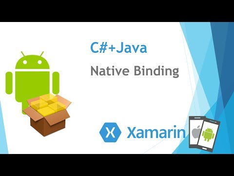 [Xamarin.Droid] Native Binding 使用AAR函式庫 (C# + Java)