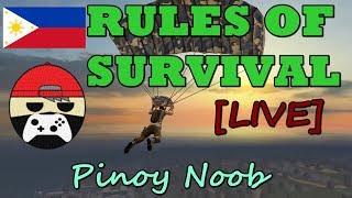 Rules Of Survival - Pinoy Live Stream - Mag-hahasik ng katangahan sa mundo ng ROS! PART 17