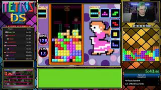 Tetris DS Speedrun in 9:20 PB