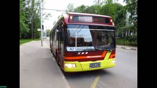 Trolleybus in Moscow 25.06.2012(СВАРЗ-6235.01 (БКМ 321) на 47 маршруте. Видео снято на Бескудниковском бульваре, фото - на Бескудниковском переулке..., 2012-06-26T20:15:09.000Z)