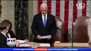 Rugăciune în Capitoliul aflat sub asediu