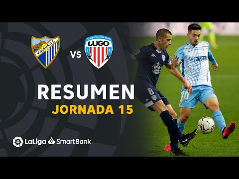 Malaga Lugo Goals And Highlights