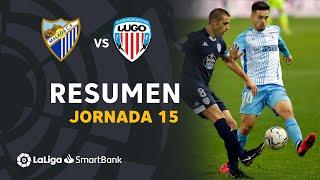 Resumen de Málaga CF vs CD Lugo (2-2)
