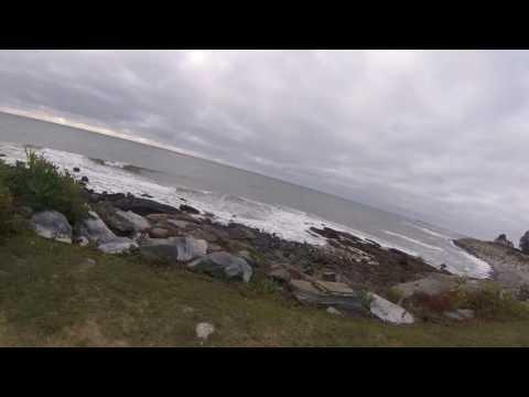 The Angry Atlantic Ocean - Rye & North Hampton New Hampshire - Coastline Ride - Seacoast Nation NH