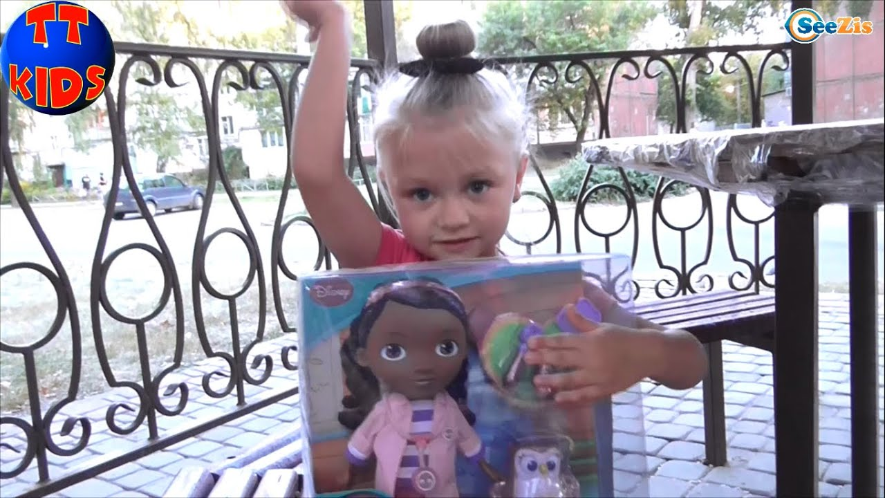 ✿ Кукла Доктор Плюшева больница Doc McStuffins Boo-boos Away .