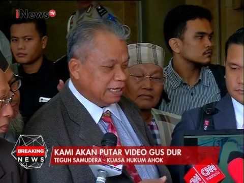 Teguh Samudera : Video Gus Dur yang berkata ke Ahok akan kami putar - iNews Breaking News 14/03