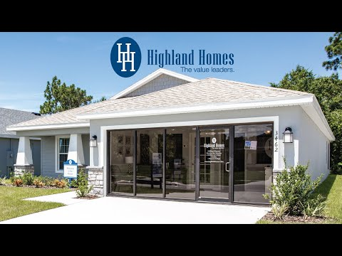 Parker Home Plan By Highland Homes - Florida New Homes For Sale