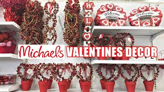 MICHAELS VALENTINE'S DAY DECOR SHOP WITH ME 2021
