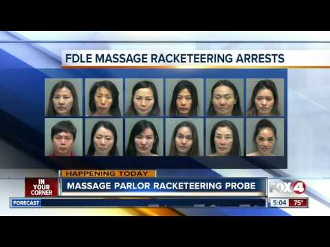 14 arrested in massage parlor crackdown