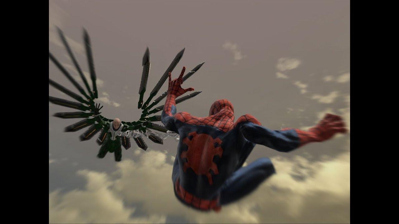 Spider-Man Web of Shadows playthrough pt 10 ( Vulture Boss ...
