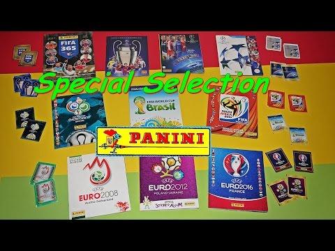 PANINI Sticker Compilation Panini STICKER in 10 Album FIFA 365 UEFA World Cup