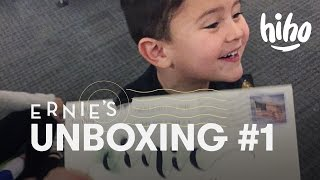 Ernie Unboxes a Sword, Shield and Elephants | Unboxing | HiHo Kids