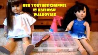 doing hairstyle on my ag doll with haileigh walkoviak Thumbnail