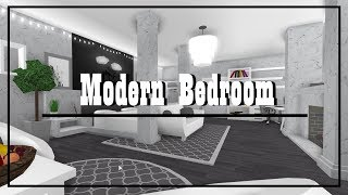 ROBLOX | Welcome to Bloxburg - Speed Build : Modern Bedroom