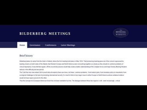 Bilderberg Group Launches a Website!