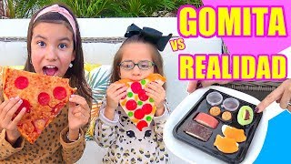 Comida de GOMITA VS REAL | TV Ana Emilia