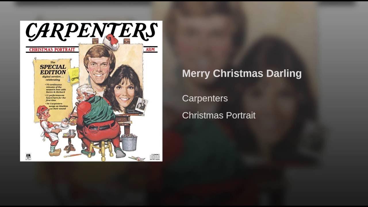 Carpenters Christmas.Carpenters Merry Christmas Darling Lyrics Genius Lyrics