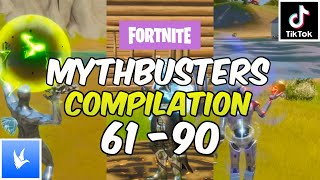 TikTok Fortnite Mythbusters Compilation 61-90