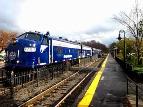 Pan Am Business Train (OCS) at West Concord MA 11/17/10