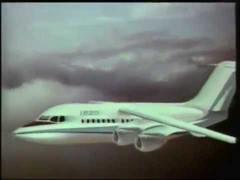 BAe 146 aircraft Documentary - BBC Nationwide TV Program in 1981 (All parts)
