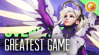 THE MOST INTENSE COMPETITIVE MATCH EVER! - Overwatch Competitive Gameplay thumbnail