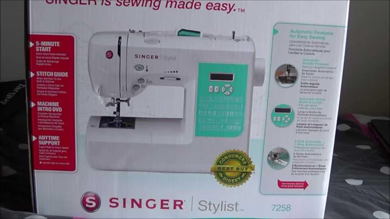 Singer Sewing Machine Box Opening & Singer Sewing Machine Box Opening - YouTube Aboutintivar.Com
