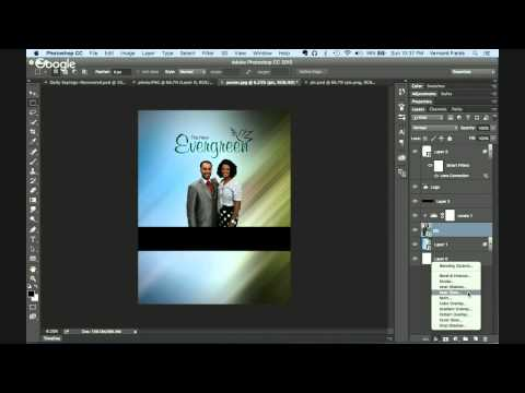 Creating a Church Flyer
