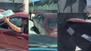 Truck DRAGS Car With Driver INSIDE! | What's Trending Now!
