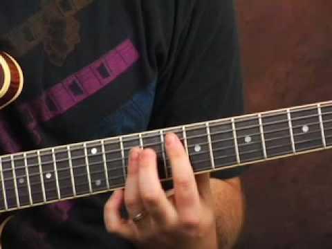 Guitar lesson licks and inversions ala Jimi Hendrix Hey Joe