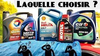 Choisir la bonne huile moteur !