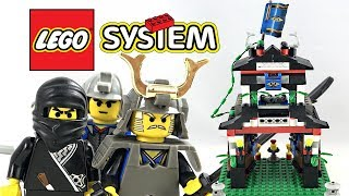 LEGO Ninja Samurai Stronghold review! 1998 set 6083!