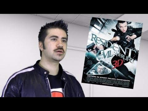 Resident Evil: Afterlife 3D Review poster